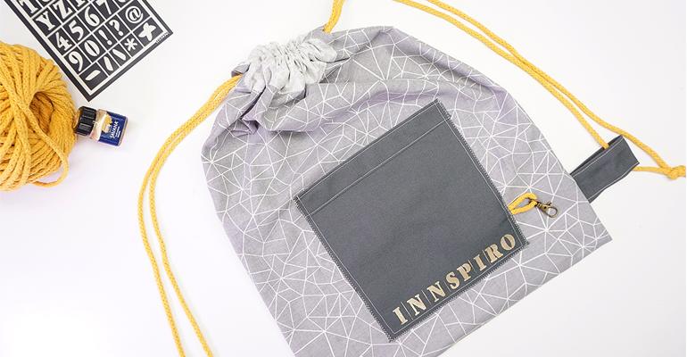 Cómo coser una mochila textil de forma muy fácil y sencilla