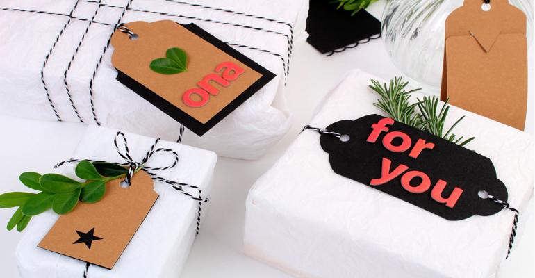 5 ideas de tags navideños muy DIY