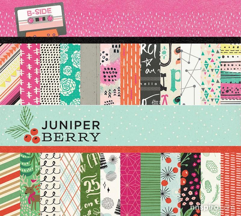 Nuevas colecciones B-Side & Juniper Berry de Basic Grey