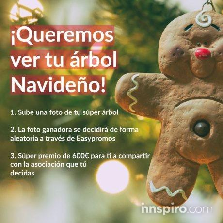 ¡Enseñanos tu árbol navideño y gana 600€!