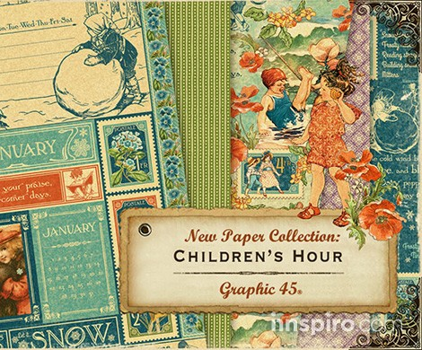 Colección Children's Hour, de Graphic 45
