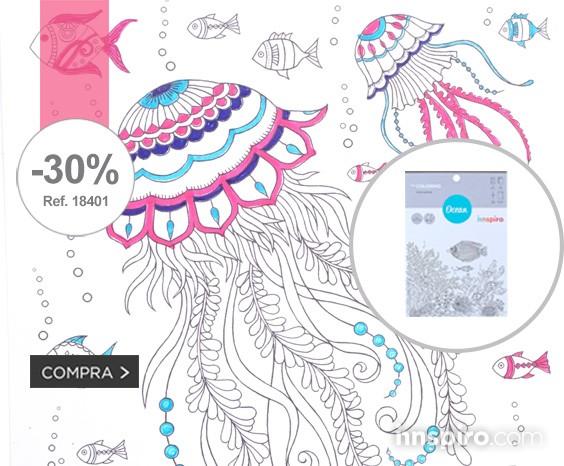 30% descuento Coloring Ocean