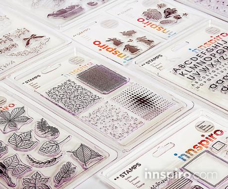 Nuevos sellos y bloques acrílicos Innspiro