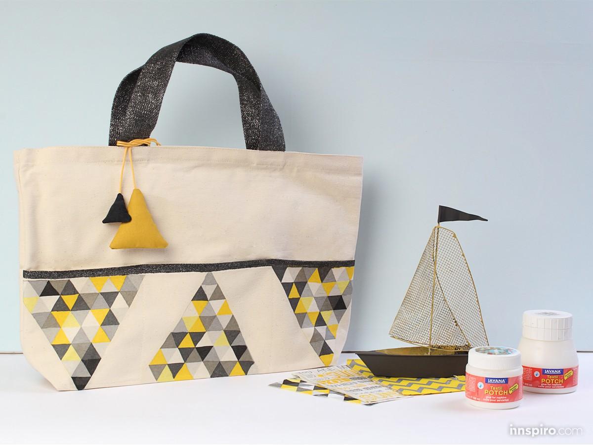Cómo decorar tus complementos textiles con la técnica de la servilleta sobre tela