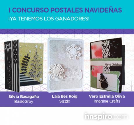 Ganadores del I Concurso de Postales Navideñas