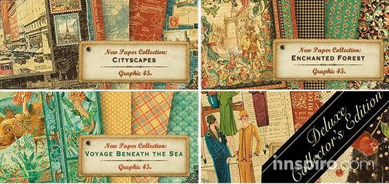 Nuevas colecciones Graphic 45