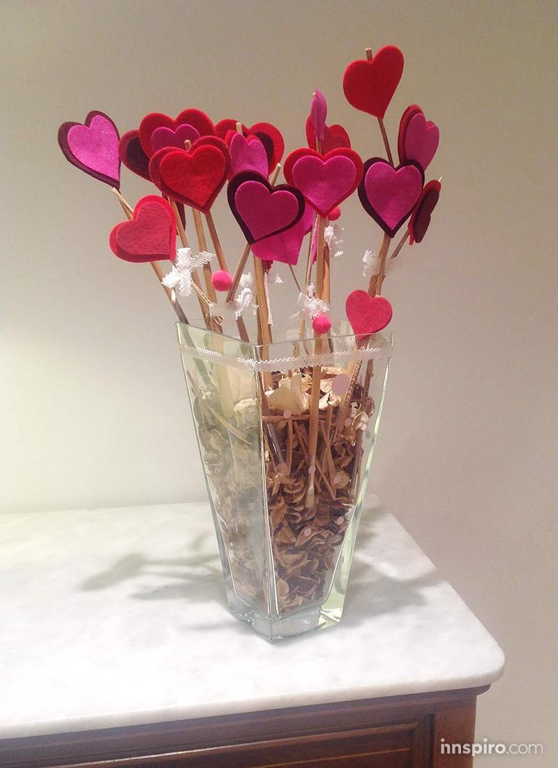 Original ramo de San Valentín
