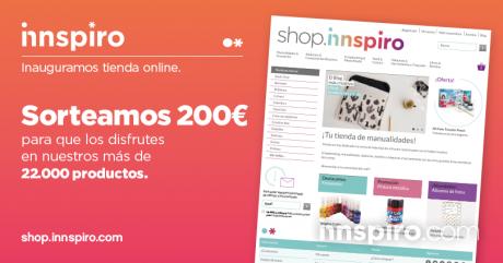 Sorteo de inauguración de nuestra Tienda Online