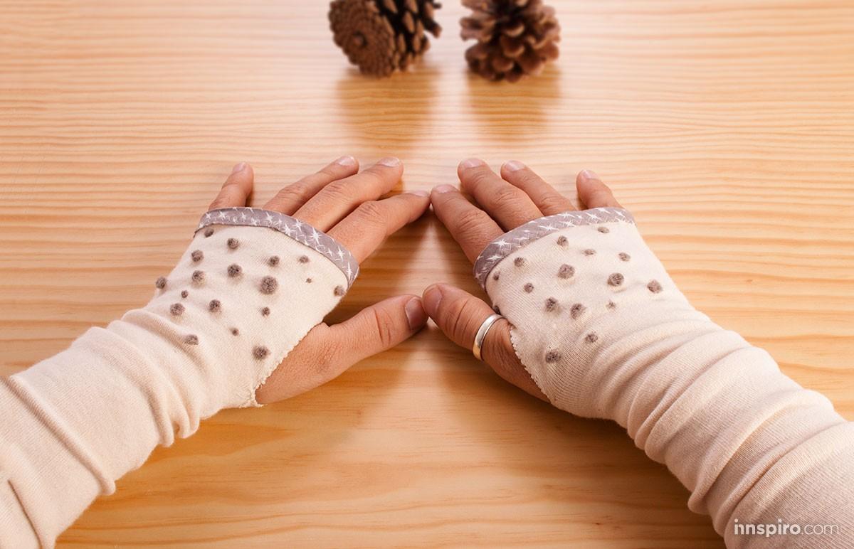 De medias a guantes