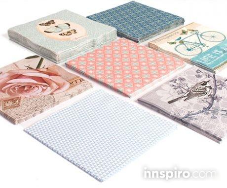 3x2 servilletas papel decorado