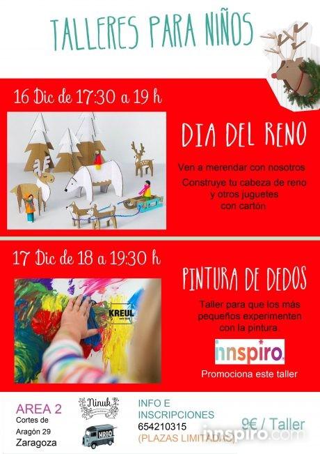 Talleres para niños a cargo de Ninuk, en colaboración con Innspiro