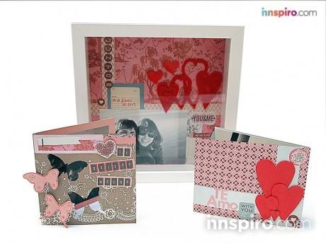Trío postales San Valentín.