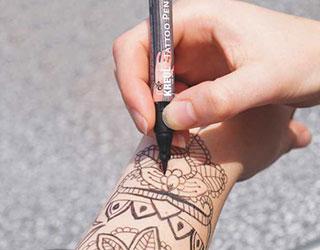 Rotulador para tatuajes