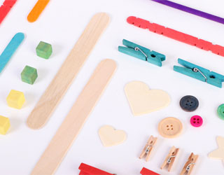 Adornos y accesorios de madera