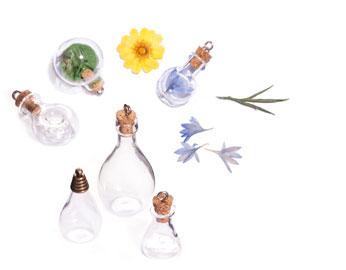 Colgantes de vidrio