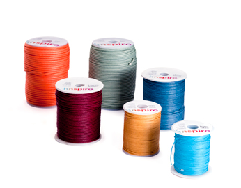 Cordón algodón encerado fino