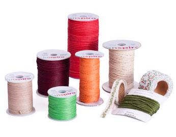 Hilos, cordones y cintas