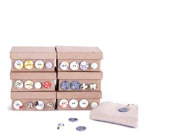 Cintas, botones y etiquetas