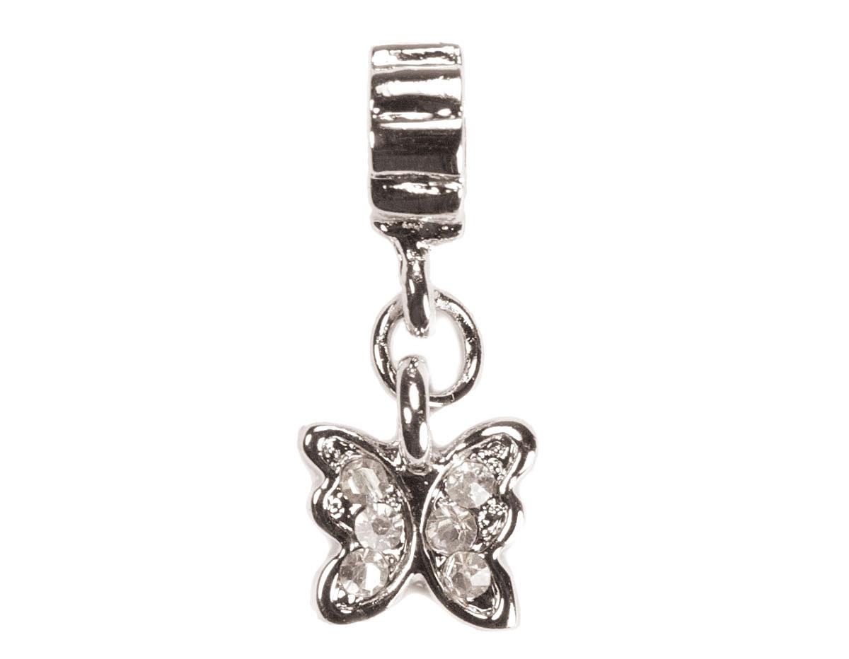 Z11130 11130 Colgante metalico con rosca DO-LINK charm mariposa Innspiro