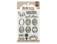 12105443 Set sellos acrilicos huevos Pascua 11x19cm BoBunny - Ítem
