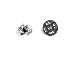 12335 A12335 Cierre de presion para pin metalico plateado Innspiro