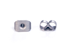 A12495 12495 Cierre presion metalico pequena plateado envejecido Innspiro