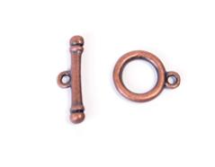 A12639 12639 Cierre metalico de aro cobrizo envejecido Innspiro