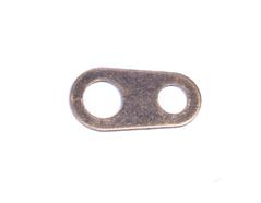 A12870 12870 Terminal metalico de 2 agujeros dorado envejecido Innspiro