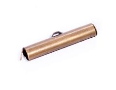 A12943 12943 Terminal metalico dorado envejecido Innspiro
