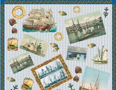 13003 Papel para decoupage barcos Innspiro