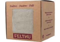 1401 Fieltro de lana blanco Felthu