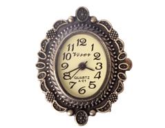 14059-AG Reloj metalico con filigrana dorado envejecido Innspiro