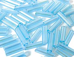 Z14062 B14062 14062 Rocalla de vidrio cilindro aurora boreale azul infantil Innspiro
