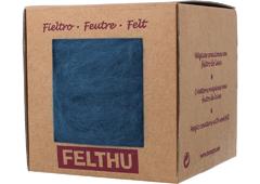 1406 Fieltro de lana azul nautico Felthu