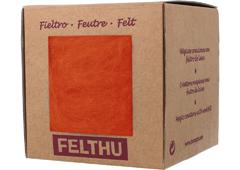 1424 Fieltro de lana zanahoria Felthu