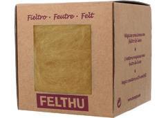 1434 Fieltro de lana amarillo Felthu