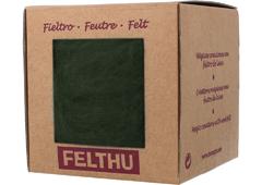 1439 Fieltro de lana verde militar Felthu