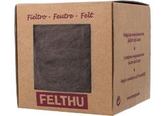 1450 Fieltro de lana marron claro Felthu