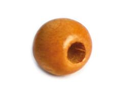 14583 Cuenta madera bola eco naranja Innspiro