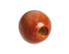 14584 Cuenta madera bola eco marron Innspiro