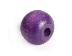 14587 Cuenta madera bola eco lila Innspiro - Ítem