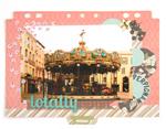 Z14720 B14720 14720 Lentejuela transparente rosa Innspiro - Ítem3