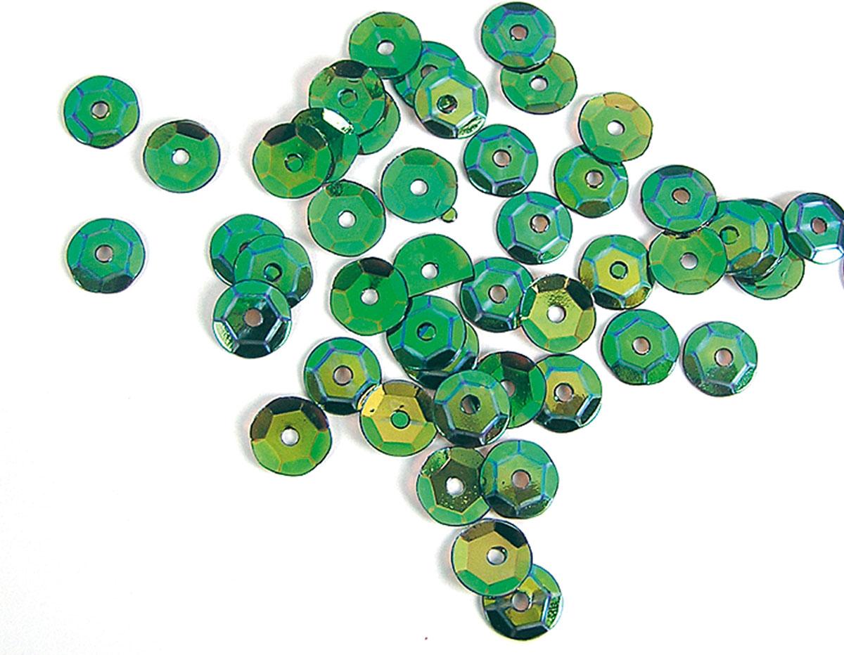 Z14732 B14732 14732 Lentejuela aurora boreale verde Innspiro