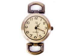 15073-AG Reloj metalico dorado envejecido Innspiro