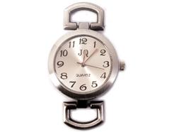 15073-AS Reloj metalico plateado envejecido Innspiro
