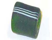 15303 Z15303 15303- CUENTAS CRISTAL Glaseadas -Cubico con rayas- Innspiro