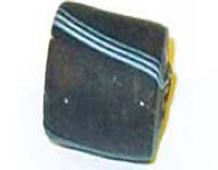 15305 Z15305 15305- CUENTAS CRISTAL Glaseadas -Cubico con rayas- Innspiro