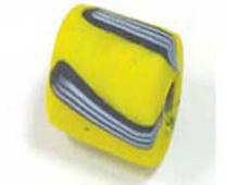 Z15306 15306 15306- CUENTAS CRISTAL Glaseadas -Cubico con rayas- Innspiro