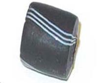 15307 Z15307 15307- CUENTAS CRISTAL Glaseadas -Cubico con rayas- Innspiro