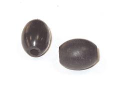 15421 Z15421 Cuenta de cuerno barril negro Innspiro